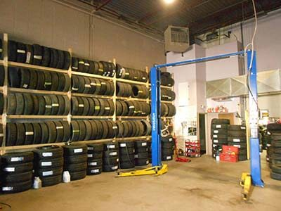 Tire Service Installation Image
