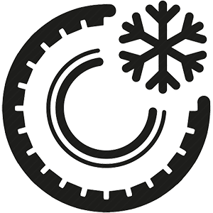 Car Tire Winter Icon