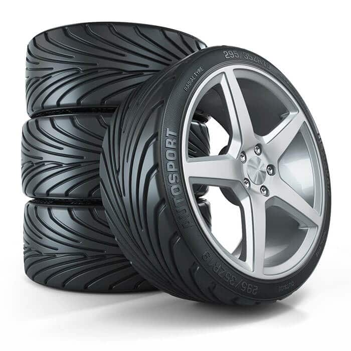 BMW X Series Tires Set